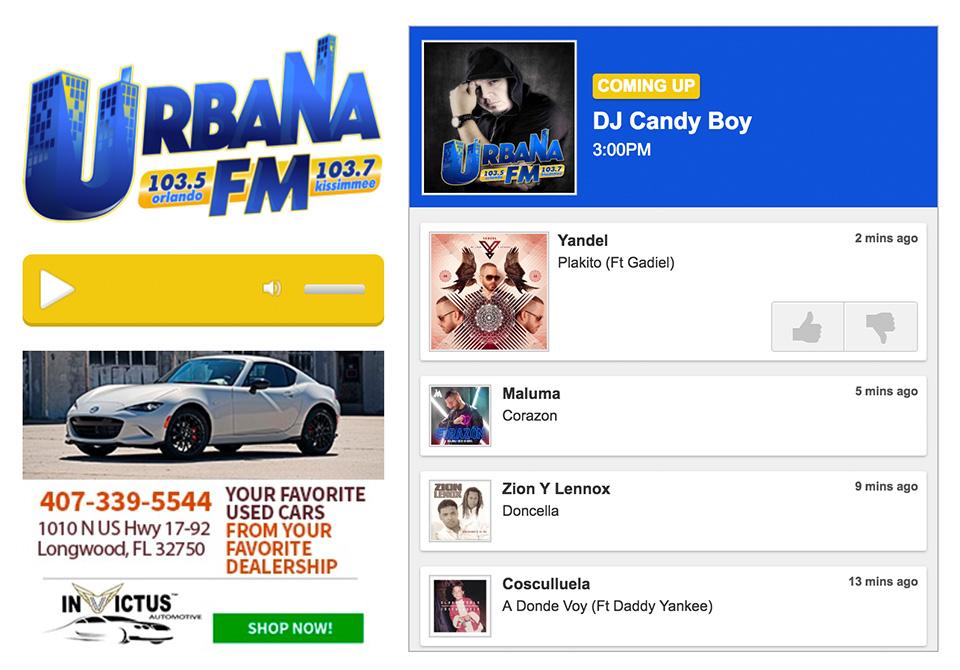 Website CMS for Radio Stations - Aiir